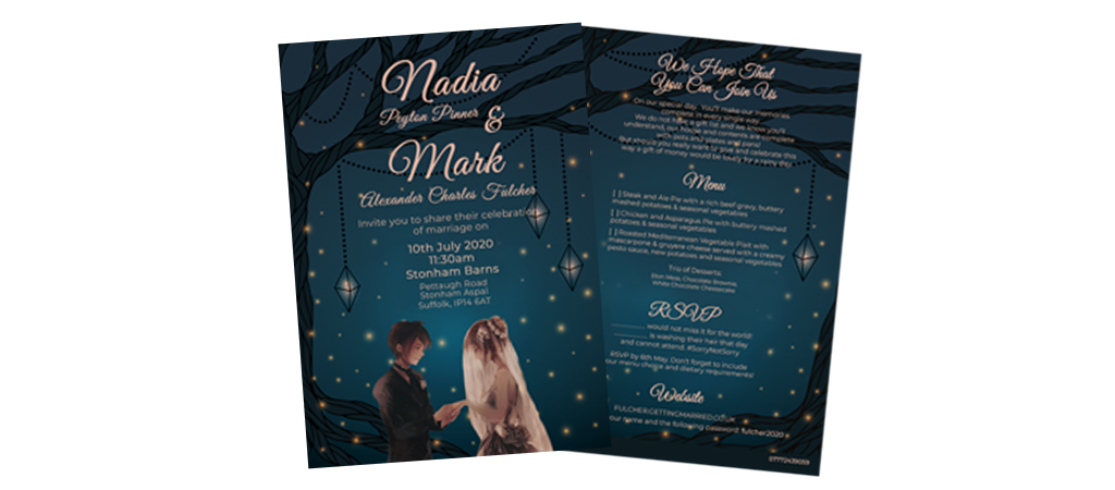 Invitation Design - Double Click